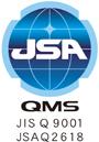 ISO9001 JSAQ2618 取得