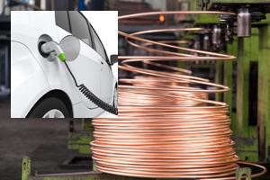 HV車用充電ケーブル関係の写真