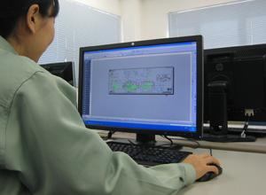 CAD(2Dデータ)の写真