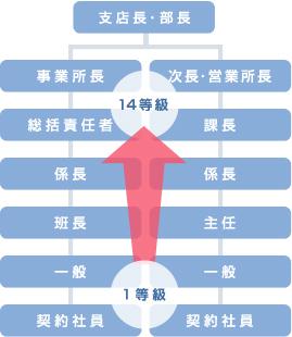 階層別教育図